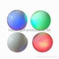 led golf balls/Flashing golf ball