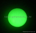 Luminous golf balls
