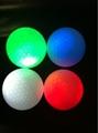 lighted golf ball