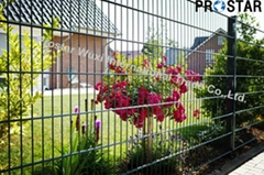 Double Welded Wire Mesh Fence Panels with Powder Coating