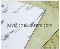 China marble aluminum plastic composite panel /sheet