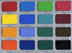 China decorative materials aluminum plastic composite panel /sheet