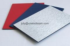 PE paint aluminum composite panel materials