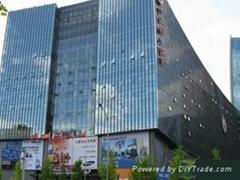 北京房山区建筑幕墙贴防晒膜装饰膜
