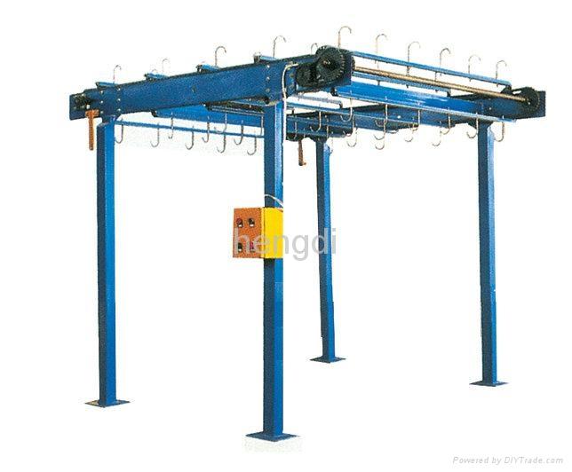 鋁間隔條吊挂輸送機 1