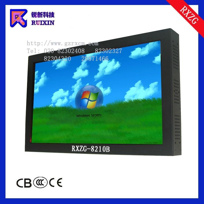 锐新RXZG-8210B防暴防水防尘触摸液晶电脑电视一体机 2