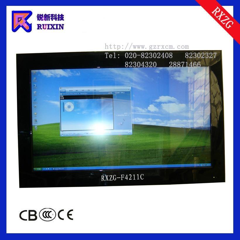 锐新RXZG-4211C高光防水防暴防尘液晶电脑电视一体机 1