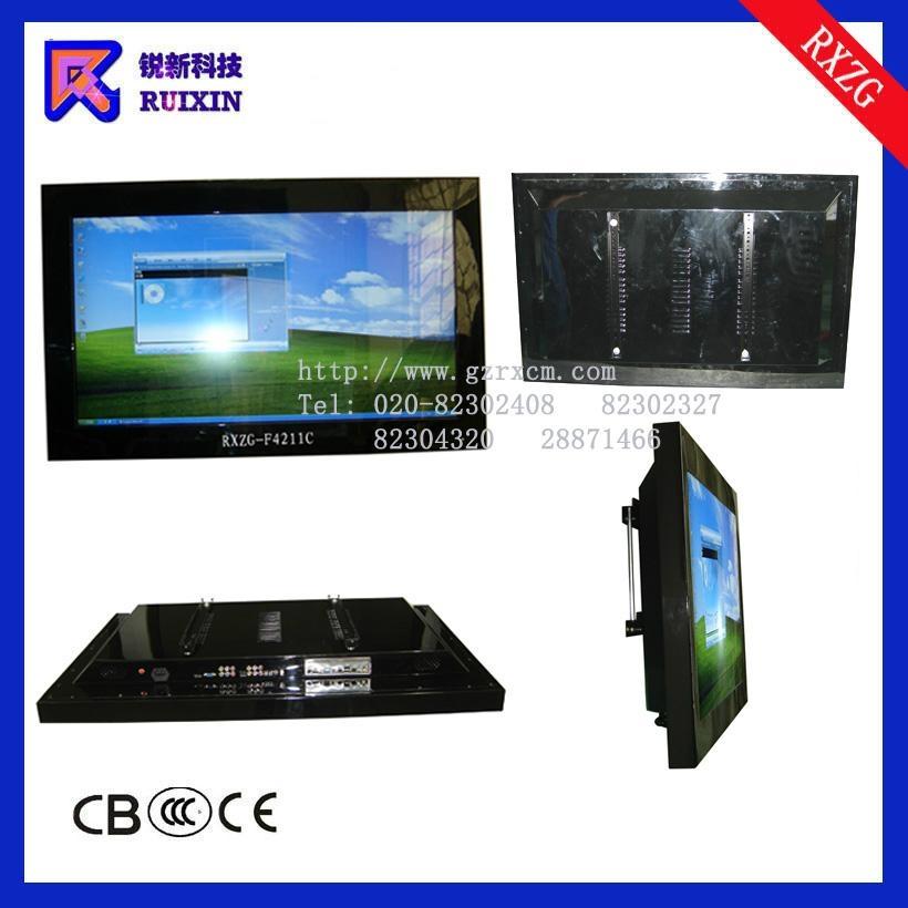 锐新RXZG-4211C高光防水防暴防尘液晶电脑电视一体机 2