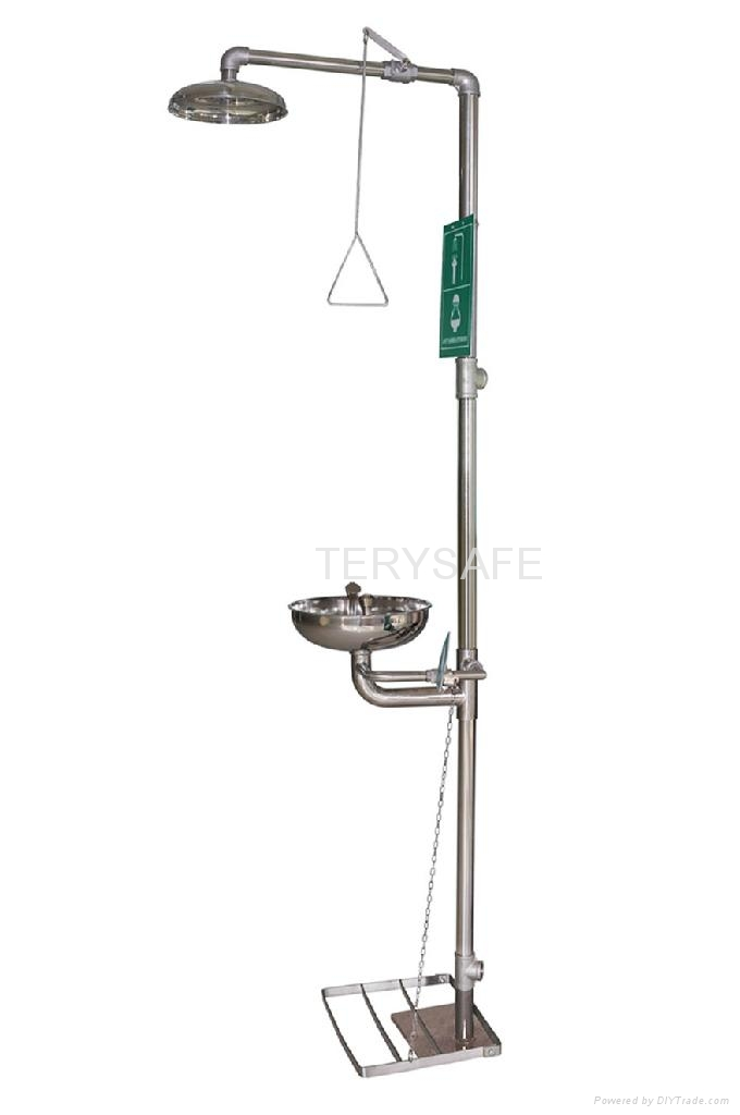 Emergency Safety Shower Amp Eye Wash China Manufacturer