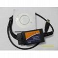 high quality ELM 327 USB plastic