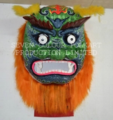 Chinese Fukien Green Flat Face Lion