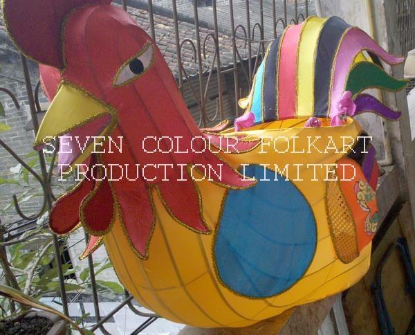Chinese handicraft cock 1