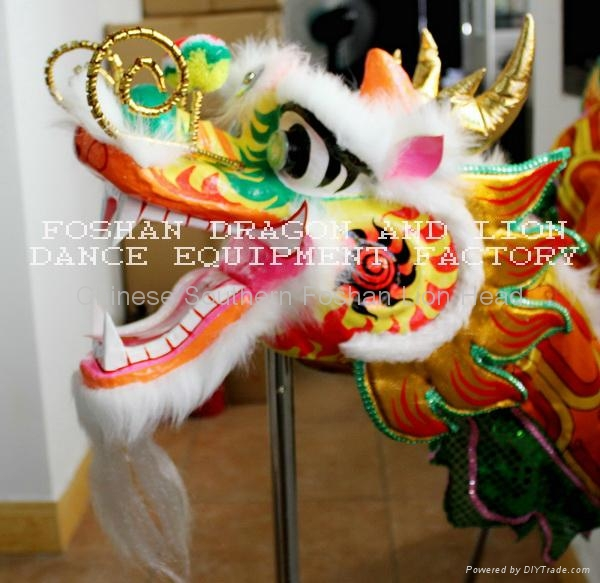Chinese dragon dance set for 2 people 1