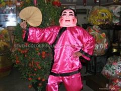 Female taitaufat and costumes