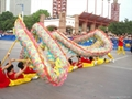 Chinese dragon dance for outdoor activity celebration