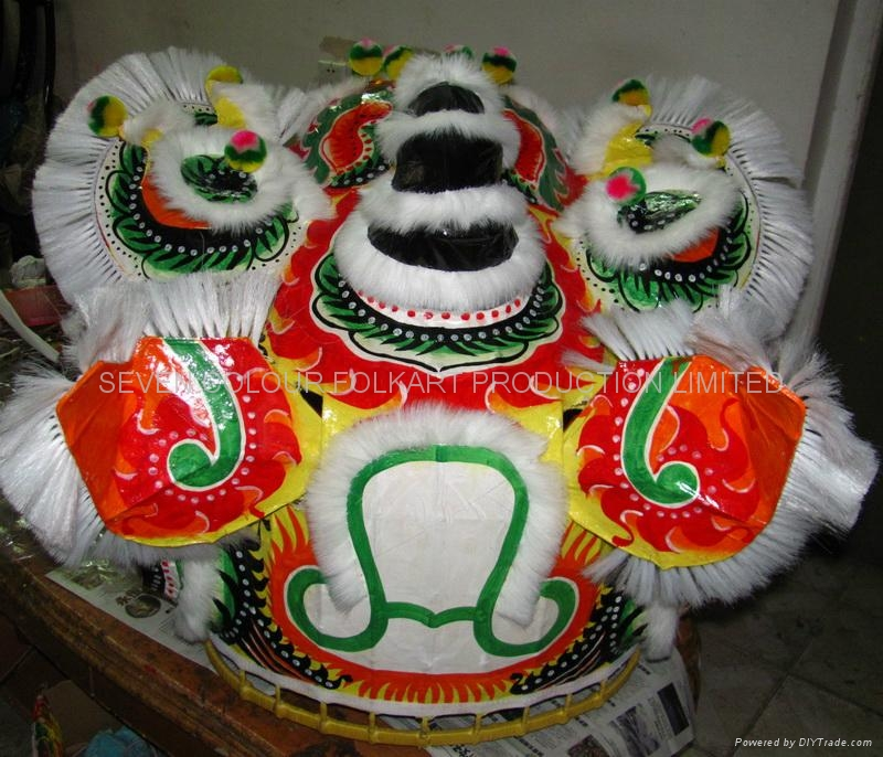 Chinese traditional white lion 2