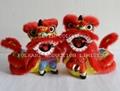 Chinese folkart decorative lion dance_10x8x14cm