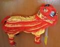 Chinese folkart handicrafts toys puppet lion_40x16x14cm