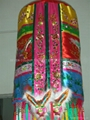 Ceremonial embroidered umbrella for religion ceremony, wedding, collection, prop