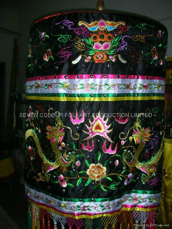 Ceremonial embroidery canopy for religion ceremony, wedding, collection, prop