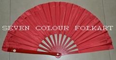 Tai Chi Fan in Red Color