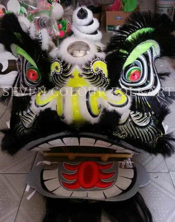 Chinese traditional lion in white colour 2
