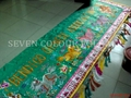 Embroidered banner for Chinese Association