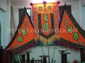 Banner and flags set for lion dance team