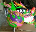 Chinese green dragon for competition dragon dance 2