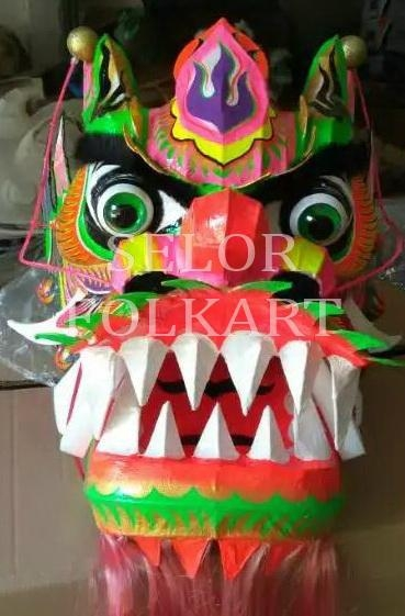 Chinese green dragon for competition dragon dance 3