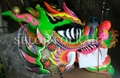 Chinese green dragon for competition dragon dance 1