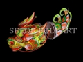 Chinese dragon dance set