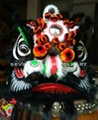 Chinese traditional bristle lion in different pattern