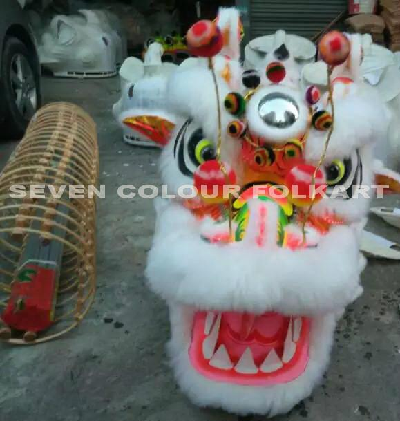 Chinese dragon set in white color 1