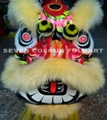 Chinese Lion Head in different colors