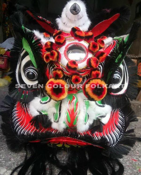 Traditional Lion Guan Gong