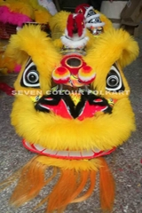 Foshan Lion with wool in yellow colour