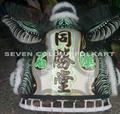 Beautiful Chinese southern traditional Zhang Fei lion