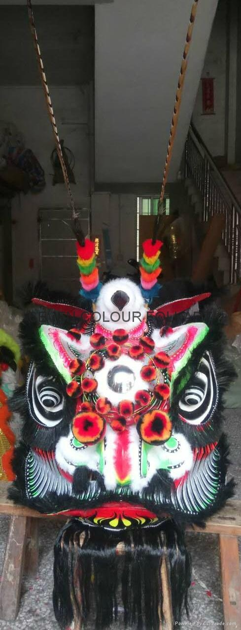 Chinese traditional black bristle lion