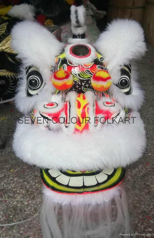 White wool hok san lion
