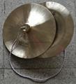 Copper cymbals