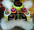 Chinese lion with white wool