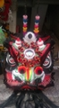 Traditional lions Guan Gong