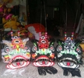 Chinese traditional lion set