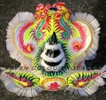 Traditional Foshan lion in white color 2