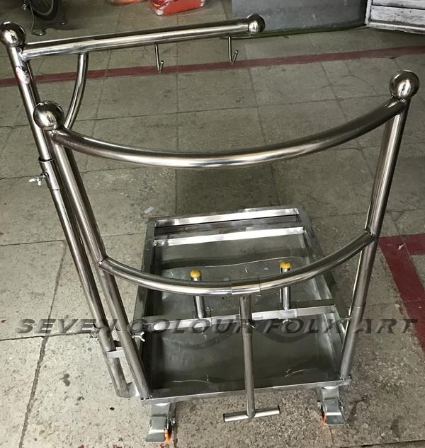 Drum cart for lion dance  1