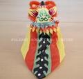 Chinese handicrafts mini lion_16x10x10cm
