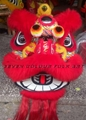 Foshan red wool lion