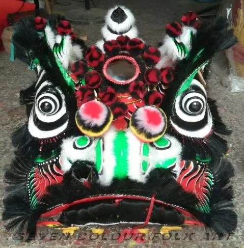 Chinese traditional lion in different colors 7