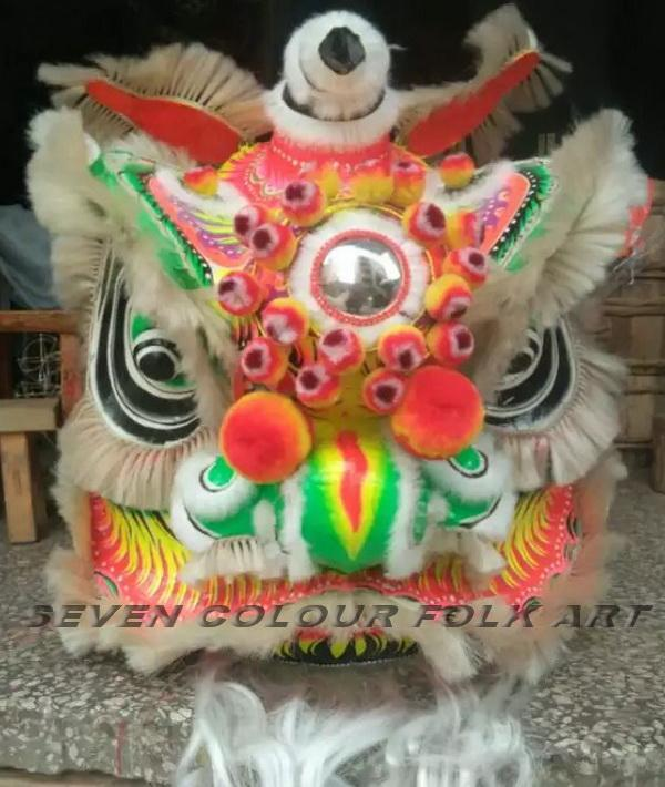 Chinese traditional lion in different colors 5